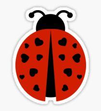 ladybug love Sticker