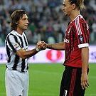 Ibrahimovic und Pirlo von ashleygaffney