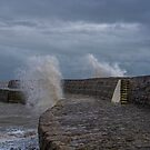 Waves over the Cobb  by Chris Thaxter