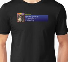 "Peppy - ""Never give up. Trust your instincts."" Unisex T-Shirt"