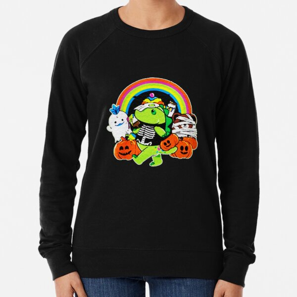Moriah Elizabeth Pickle Treat or trick Halloween Lightweight Sweatshirt