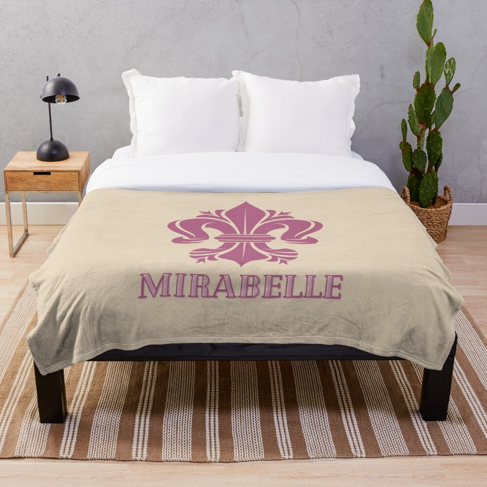 Mirabelle Throw Blanket