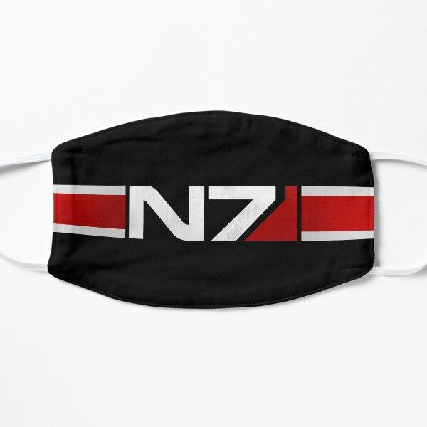 Mass Effect Horizontal N7 Flat Mask