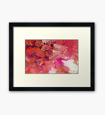 Matrix Red Framed Print