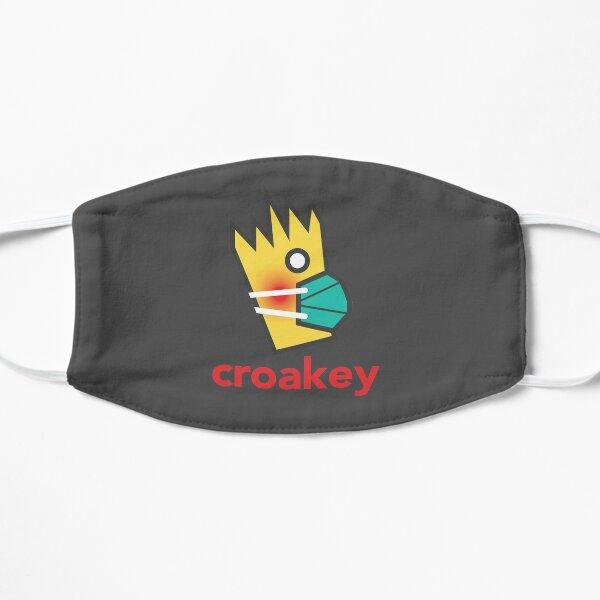 Croakey masked Flat Mask