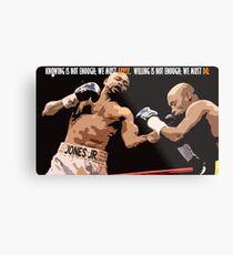 Boxing Motivational  Metal Print