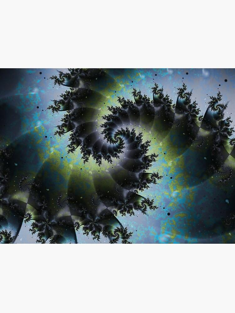 Blue Spiral Galaxy by garretbohl