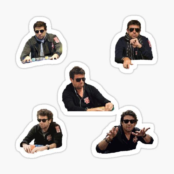 Patrick Bruel Poker Sticker