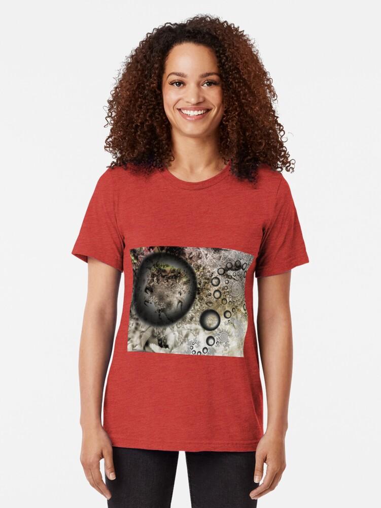 Alternate view of Dust Galaxy Tri-blend T-Shirt