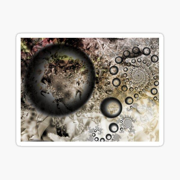 Dust Galaxy Sticker