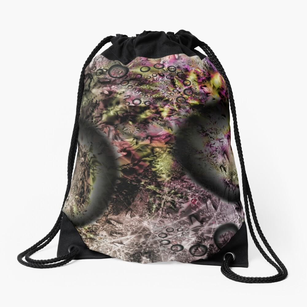 Duality Galaxy Drawstring Bag