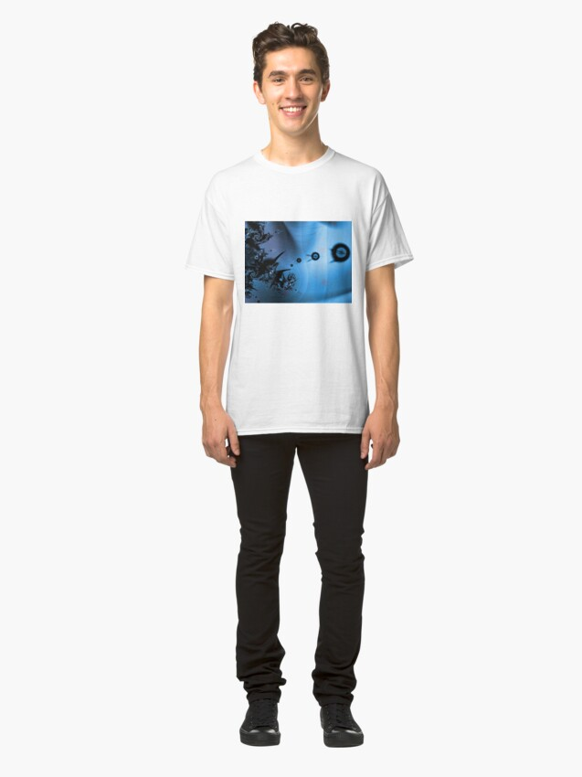 Alternate view of Blue Ocean Abstract Classic T-Shirt