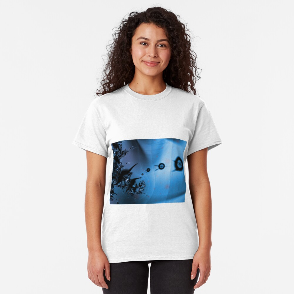 Blue Ocean Abstract Classic T-Shirt