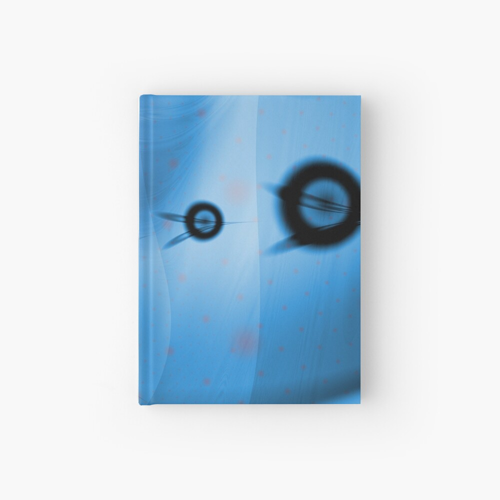 Blue Ocean Abstract Hardcover Journal