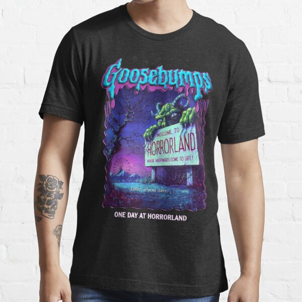 R.L. Stine Goosebumps Nightmare Halloween Terror Horrorland Essential T-Shirt