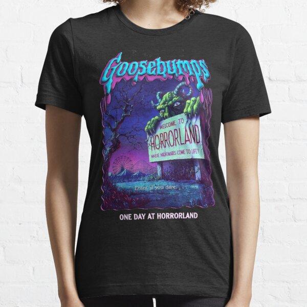 R.L. Stine Goosebumps Nightmare Halloween Terror Horrorland Essential T-Shirt