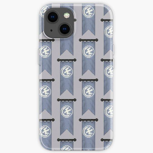WesterosCraft Moon Falcon Pixel Art Sigil Banner iPhone Soft Case