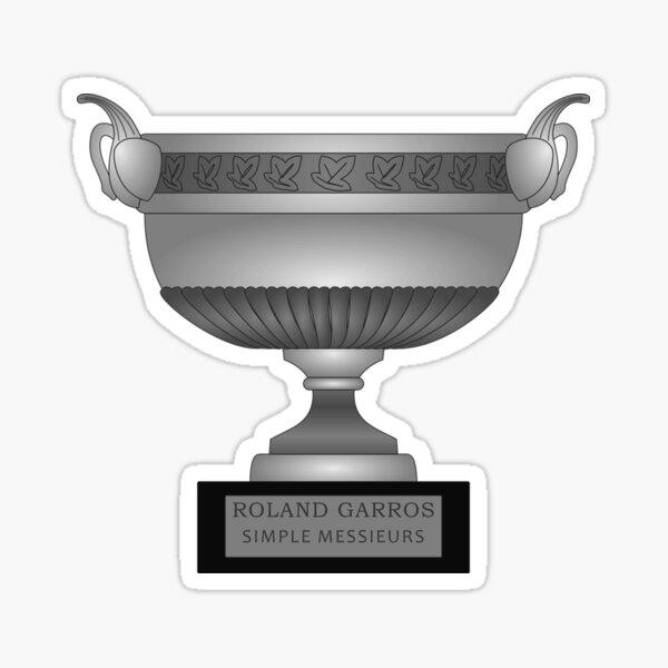 Coupe Roland Garros Sticker