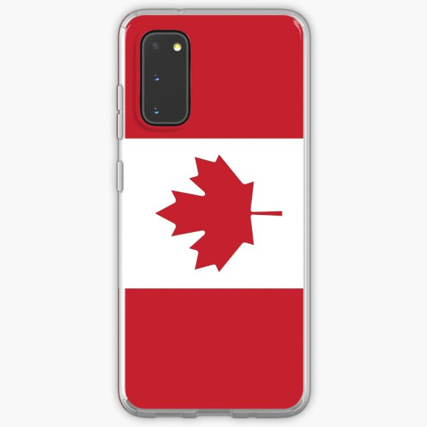 Flag - Canada - Phone Case Samsung Galaxy Soft Case