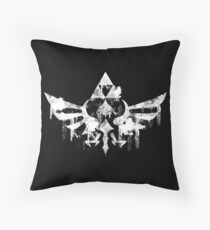 Skyward Symbol - White Throw Pillow