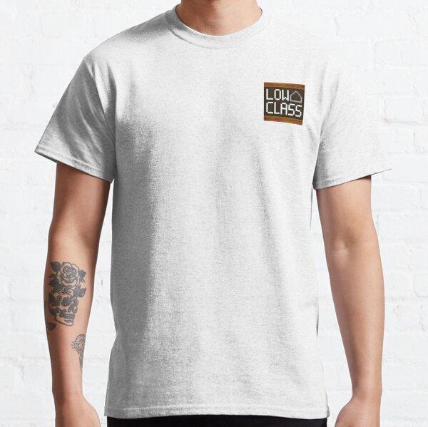 WesterosCraft Low Class Utility Block Pixel Art Icon Classic T-Shirt