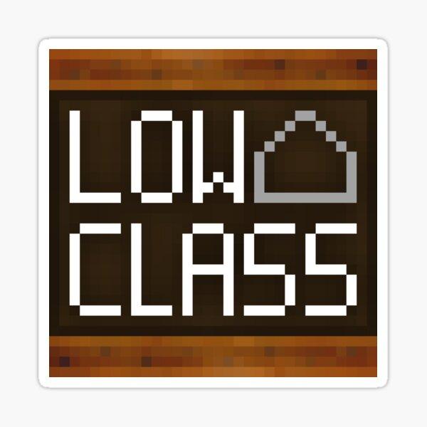 WesterosCraft Low Class Utility Block Pixel Art Icon Sticker