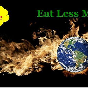 Eat Less Meat To Reduce Global Warming by FitOldDog