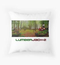 LumberJack-2 Throw Pillow