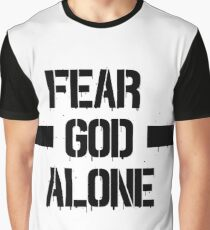 Fear God Alone Graphic T-Shirt