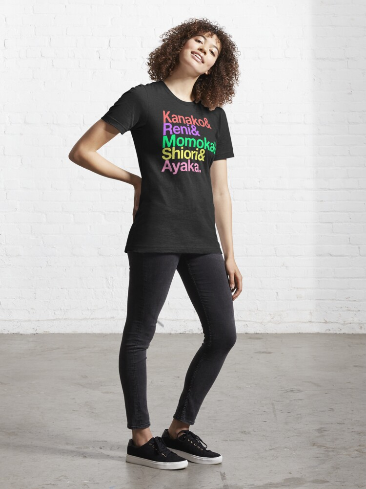 Alternate view of Momoclo goes Helvetica Essential T-Shirt