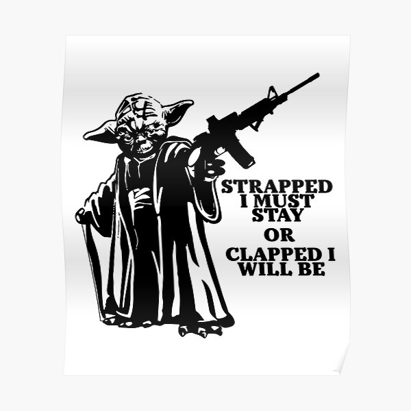 Strapped I Must Stay Poster