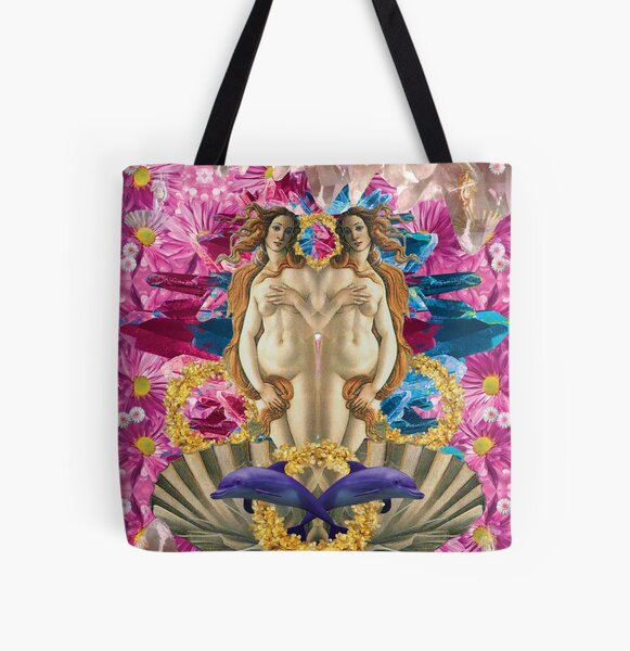 pink candy crystal venus All Over Print Tote Bag