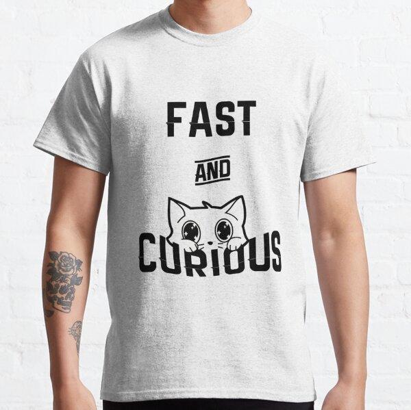 SCHNELLE UND NEUGIERIGE KATZE - WEISSE VERSION Classic T-Shirt