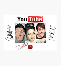 youtube star Photographic Print