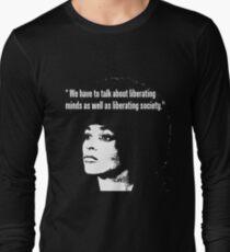 ANGELA DAVIS Long Sleeve T-Shirt
