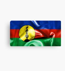 New Caledonia Flag Canvas Print