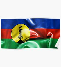 New Caledonia Flag Poster