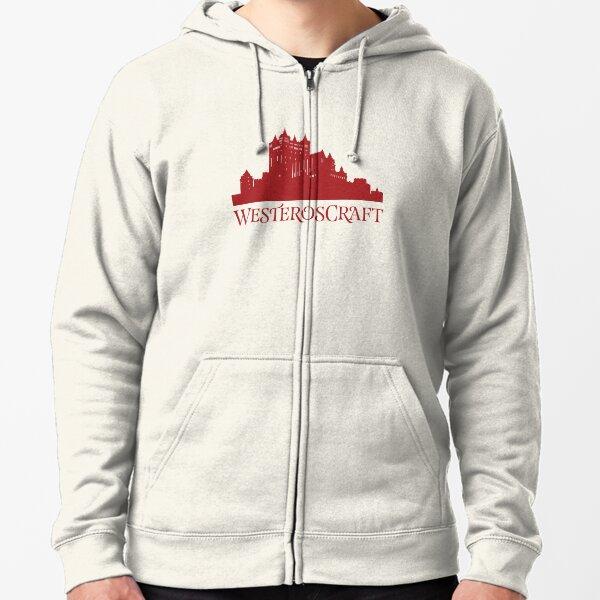 WesterosCraft Red Castle Zipped Hoodie