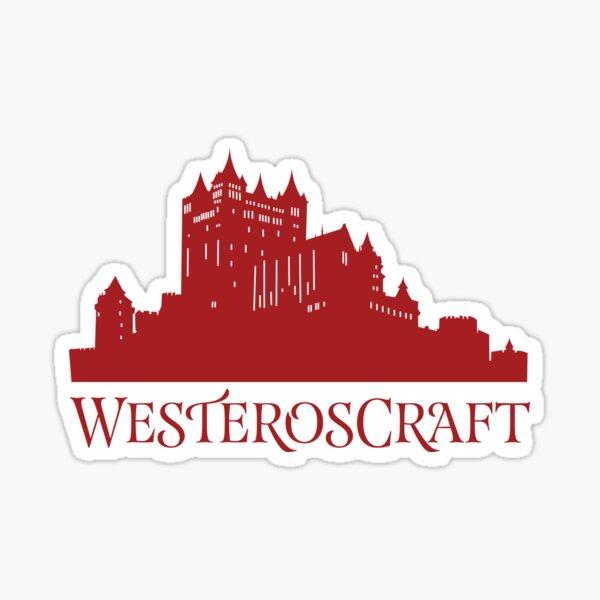 WesterosCraft Red Castle Sticker