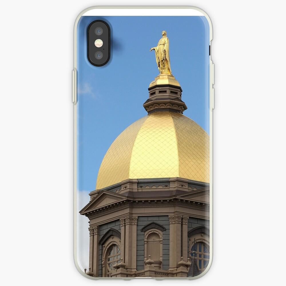 Domo de oro de Notre Dame Vinilos y fundas para iPhone