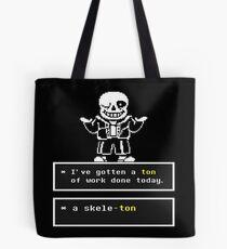 Undertale Sans Tote Bag