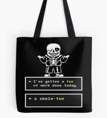 Undertale Sans Tote Bag