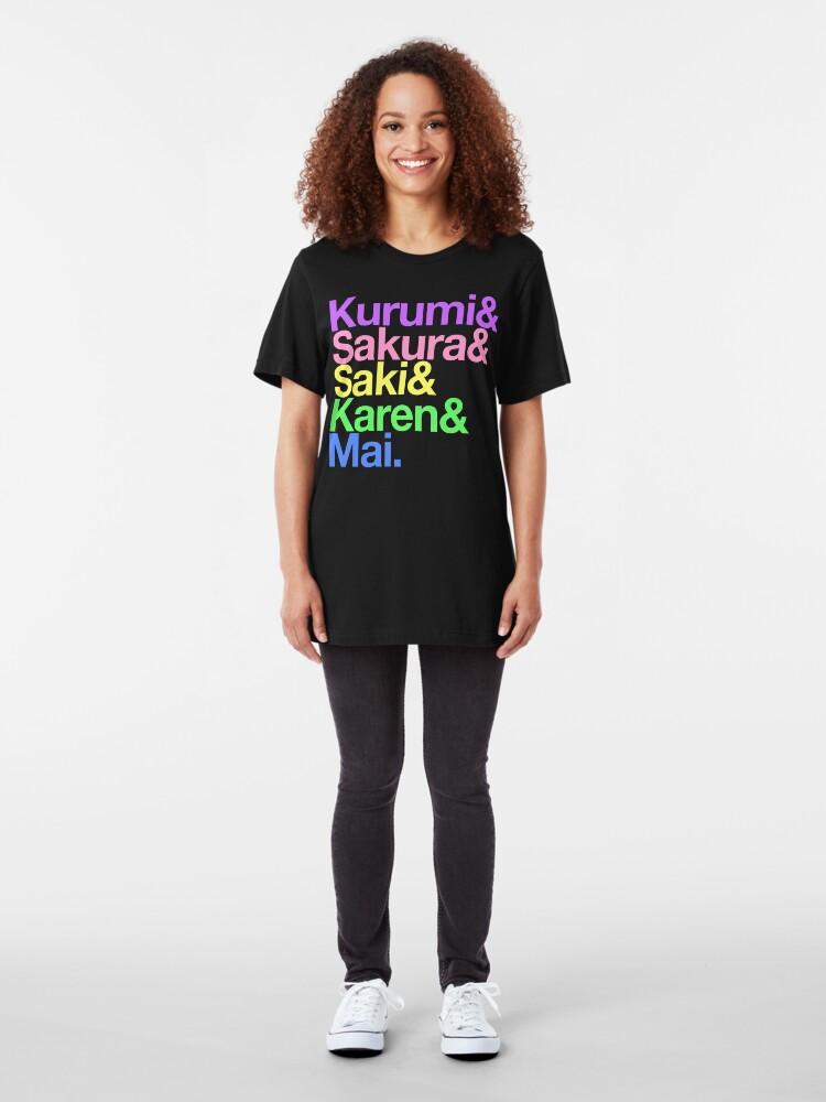 Alternate view of Takoniji goes Helvetica Slim Fit T-Shirt