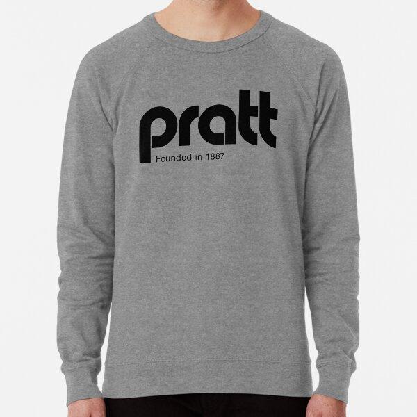 Pratt - retro logo gold Lightweight Sweatshirt