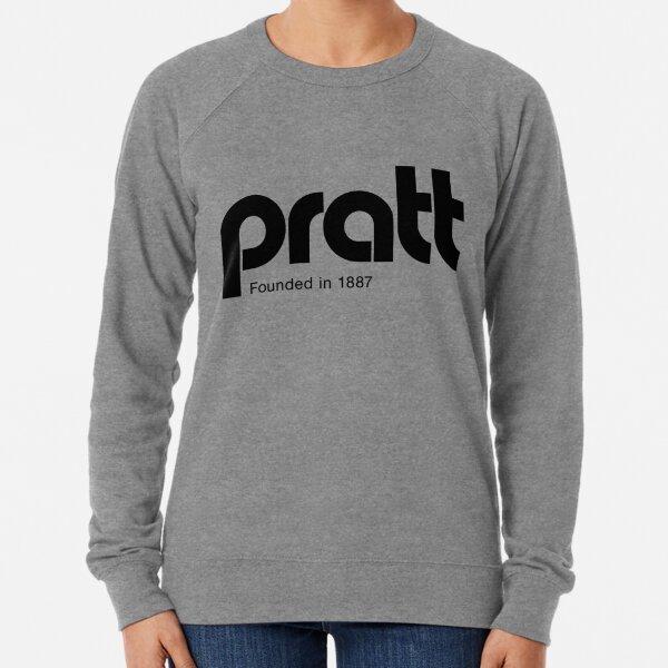Pratt - retro logo dorado Sudadera ligera