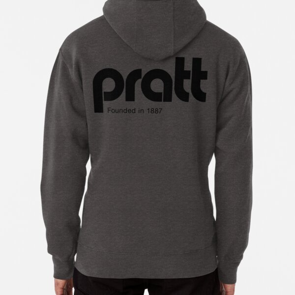 Pratt - retro logo gold Pullover Hoodie
