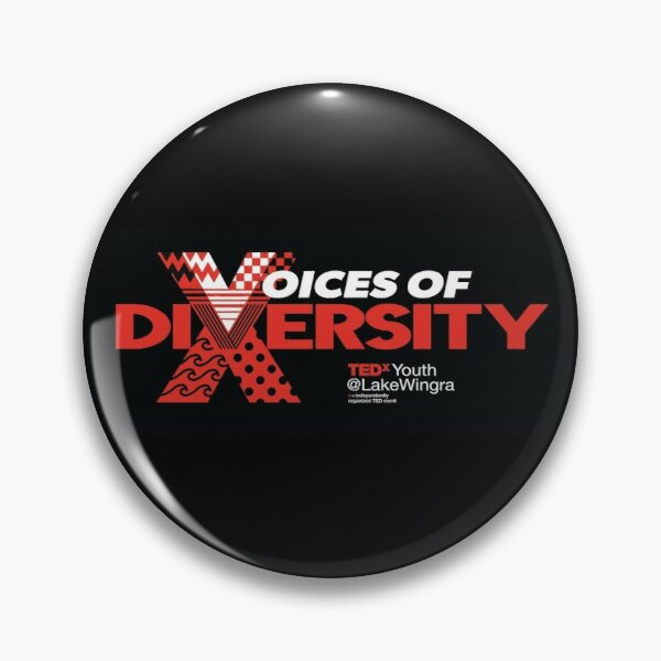 Voices of Diversity Pin