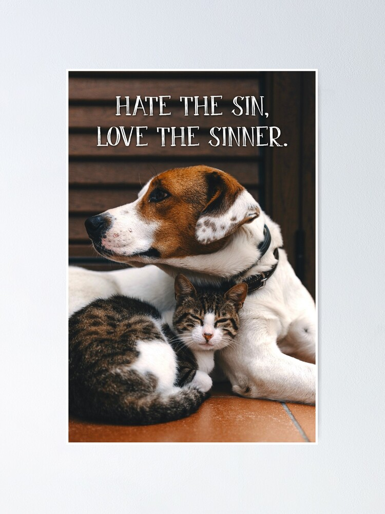 Alternate view of Hate the Sin, Love the Sinner - 1 Poster