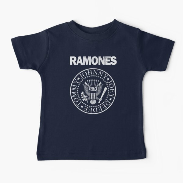 Ramones (white distressed design) Baby T-Shirt