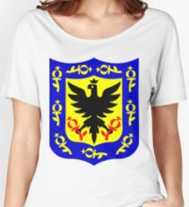 The coat of arms of Bogota, Colombia. Women's Relaxed Fit T-Shirt